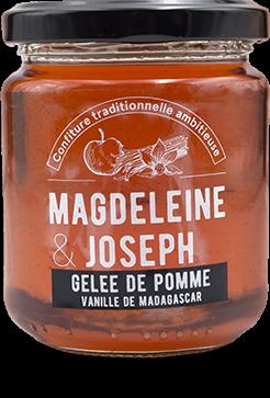 Gelée de pomme, vanille de Madagascar