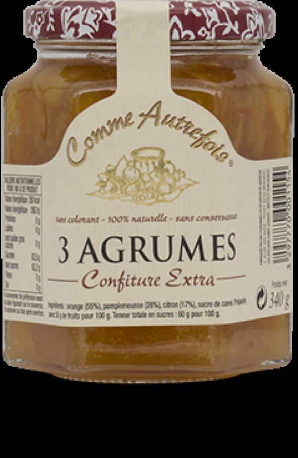 3 agrumes