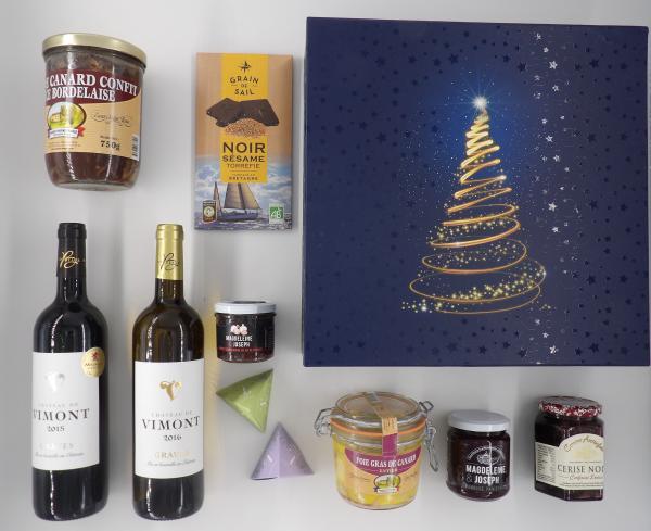 Box « Le faste d'un réveillon de Noël »