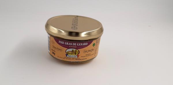 Foie gras de canard entier - 1OOg