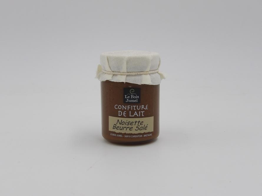 Confiture de lait à la noisette au beurre salé - Le Bois Jumel - 120g