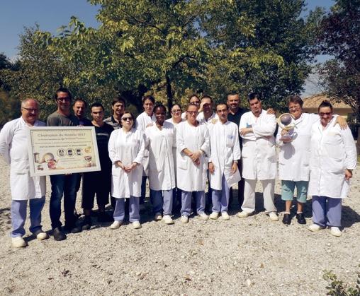 Photo de l'équipe des ateliers Saint Joseph